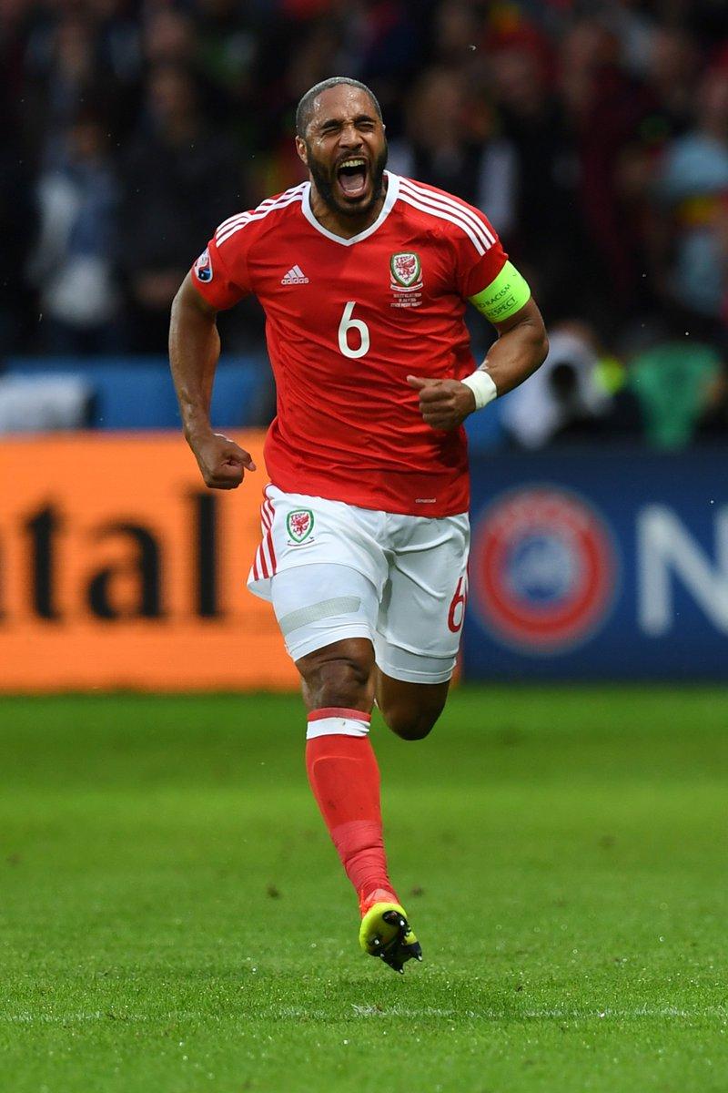Gales 3 1 Bélgica. Eurocopa 2016. 01.07.2016 Ashley