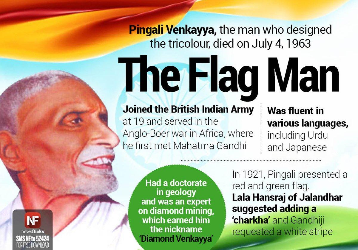 Remembering Pingali Venkayya Freedom Fighter Amp Designer