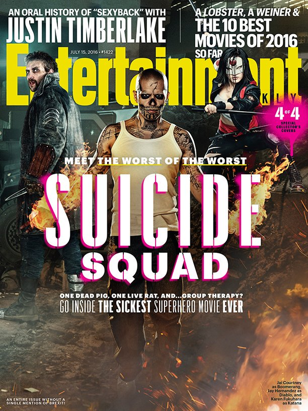 New Suicide Squad Magazine Covers Revealed 2