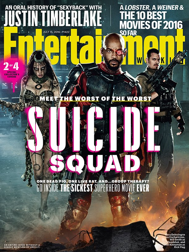 New Suicide Squad Magazine Covers Revealed 3