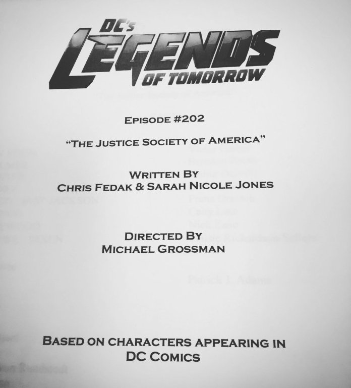 Caity Lotz JSA Legends of Tomorrow