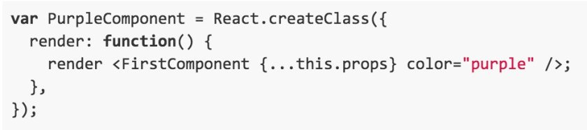 Don't apply inheritance to React components. Composition is simpler and works better: