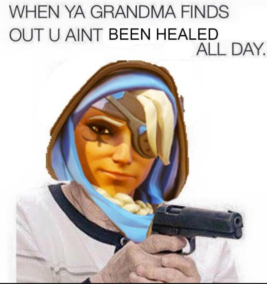OverwatchTXT On Twitter Ana Memes Are Already Going