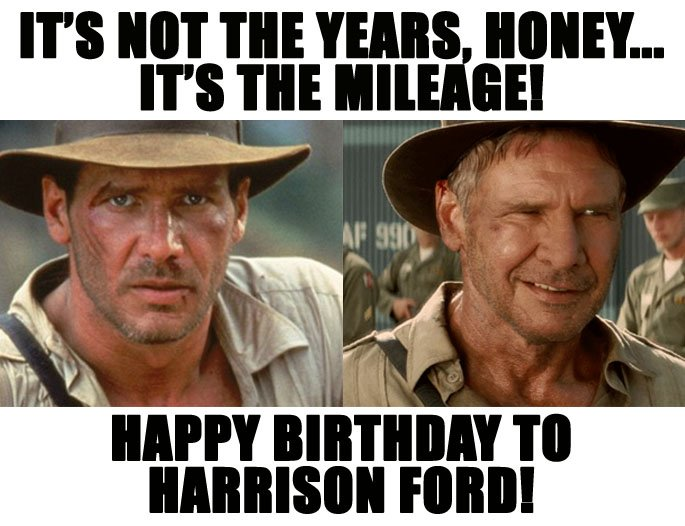 Fox59 News On Twitter The Man Behind Indiana Jones And Han Solo Turns 74 Today Happy Birthday To Harrison Ford Fox59morning