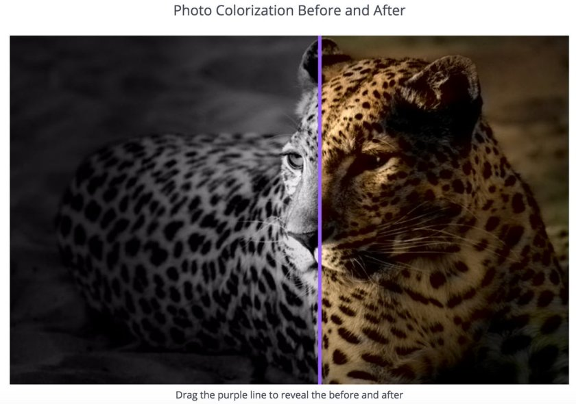 Web app that uses #DeepLearning to automatically colorize B&W photos:  #MachineLearning