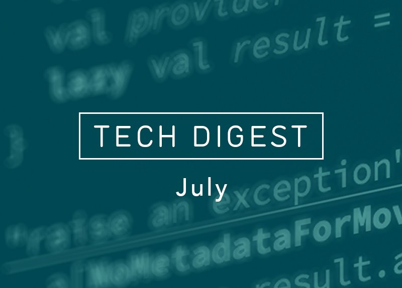 Movio July Tech Digest focuses on @reactjs and #Redux - stories via @dan_abramov