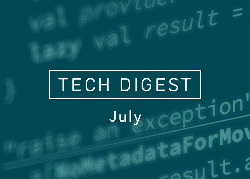 Movio July Tech Digest focuses on @reactjs and #Redux - stories via @dan_abramov