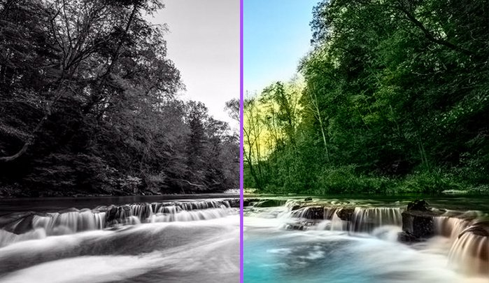 Deep Learning Algorithm Automatically Colorizes Photos | Fstoppers  #ai