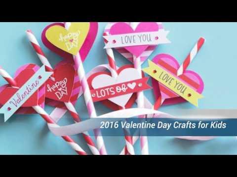 2016 Valentine Day Crafts for Kids -