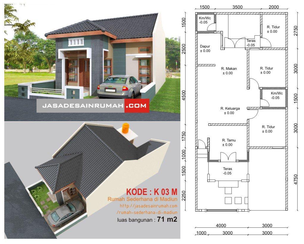 99 Desain Rumah Minimalis Sederhana Ukuran 7x12 Terupdate Tech Desain