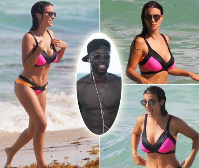 Sagna Appears Injury Free As He And Busty Wife Ludivine Enjoy The Rest Of Miami