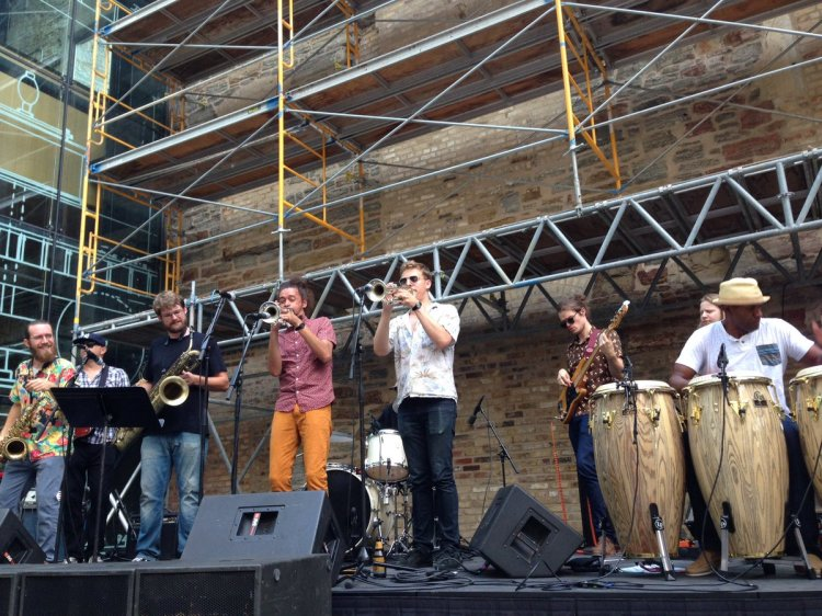 "Mill City Museum on Twitter: ""Black Market Brass kicks off the 13th season  of Mill City Live. Music until 8:00, gallery open until 9:00.… """