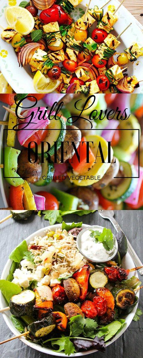 Grill Lovers' Oriental Grilled Vegetables Recipe (Servings: 4)
