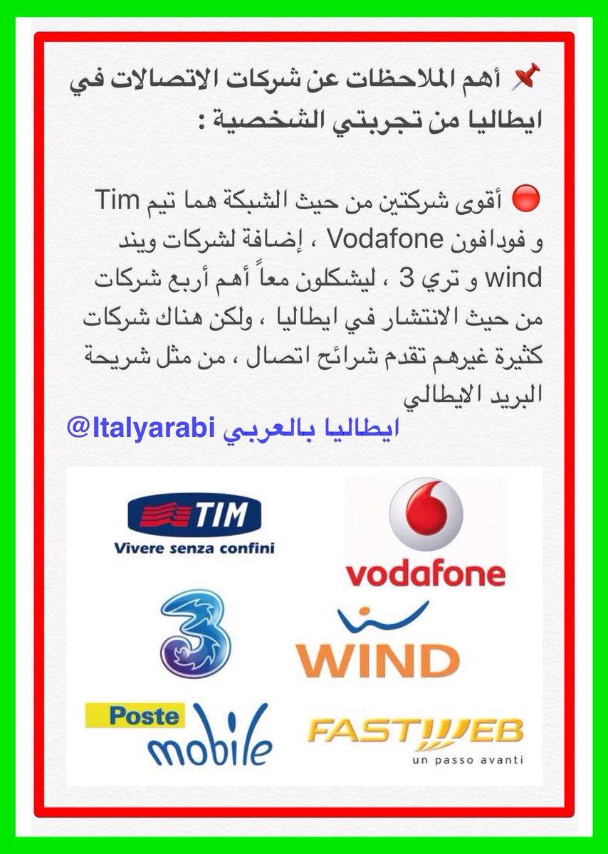 ايطاليا بالعربي On Twitter كل ما يهمك معرفته عن شرائح