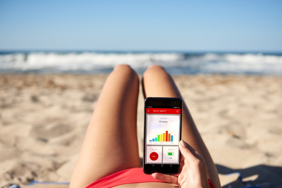 Vodafone designs hi-tech 'smart bikini' which stops women getting sunburned  #IoT