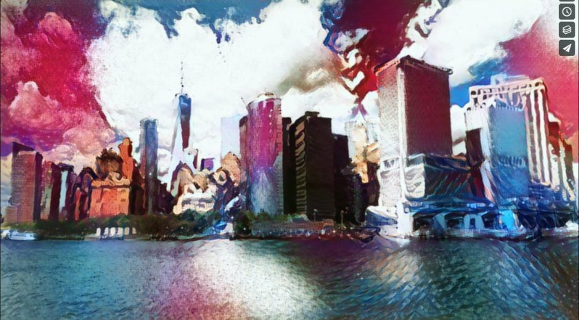 ANN turns #NYC into moving painting. #art #DeepLearning #MachineLearning