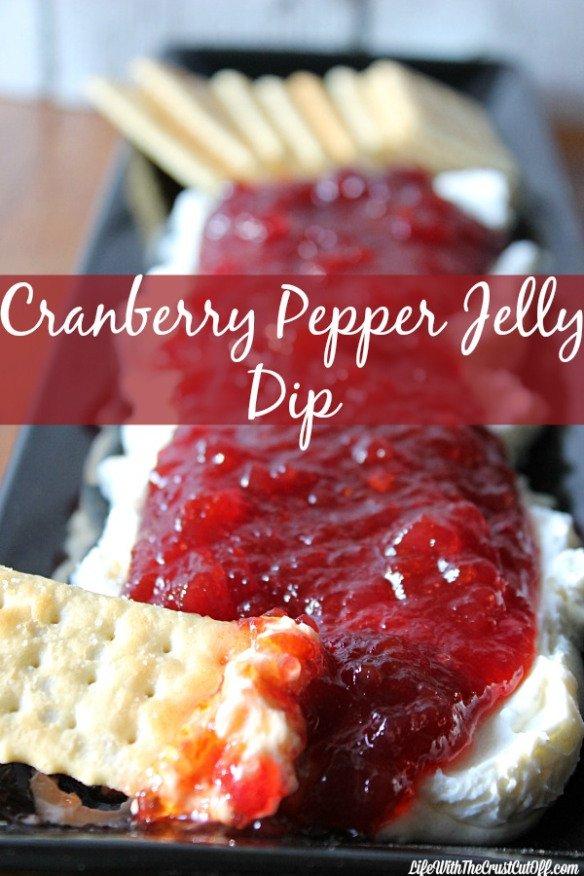 Cranberry Pepper Jelly Dip: Cranberry Pepper…