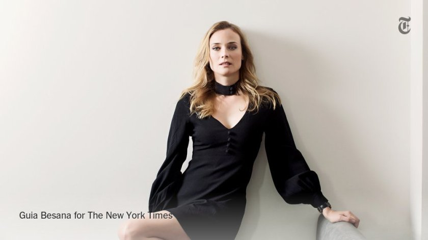 When Diane Kruger first moved to Paris, she couldn't find anywhere to exercise