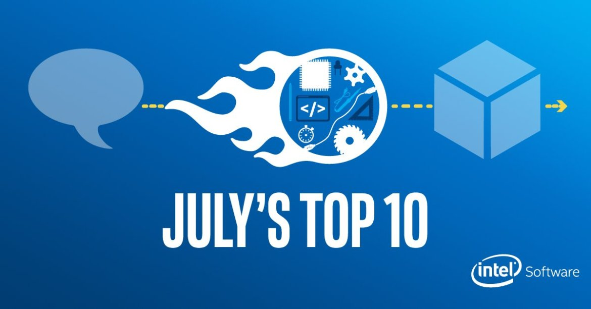 Dive right into #IoT with the Intel® IoT Developer Kit. Find out more in July's Top Ten: