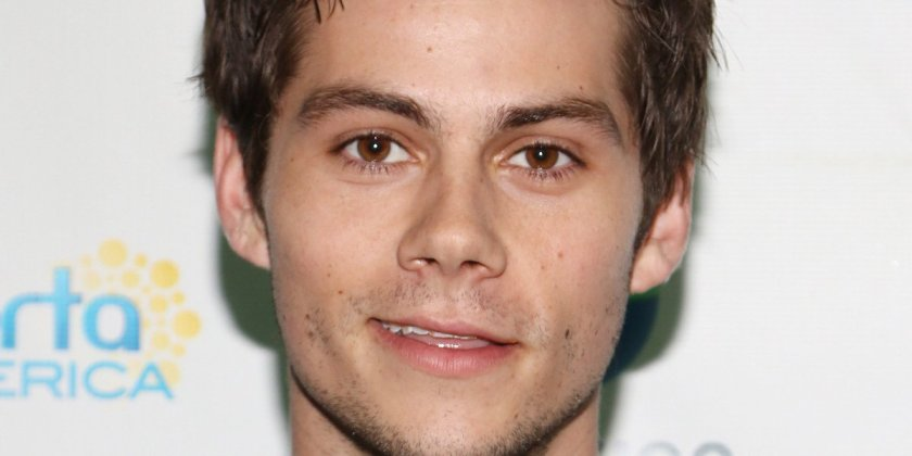 Here's the first photo of bae Dylan O'Brien since suffering an on-set injury.
