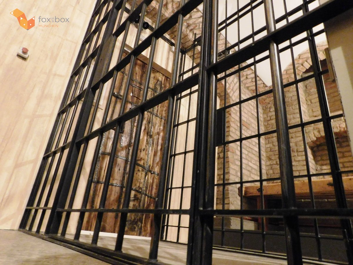 Fox In A Box Munchen On Twitter How About A Weekend In The Prison Foxinabox Foxinaboxmunchen Escapegame Escaperoom Prison