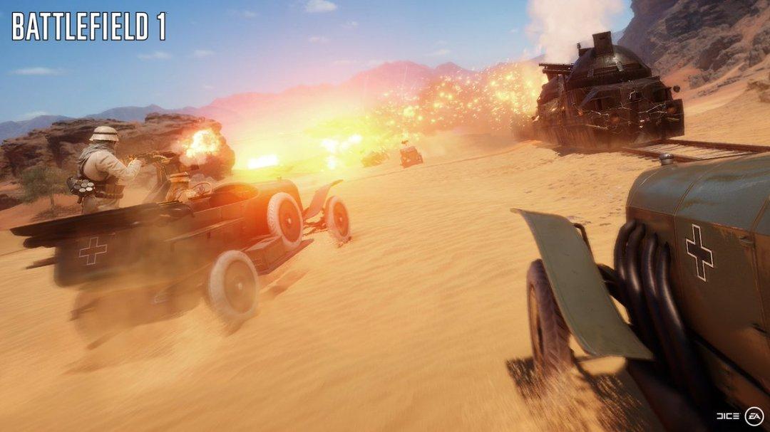 Battlefield 1 Gamescom 2016 Trailer 4