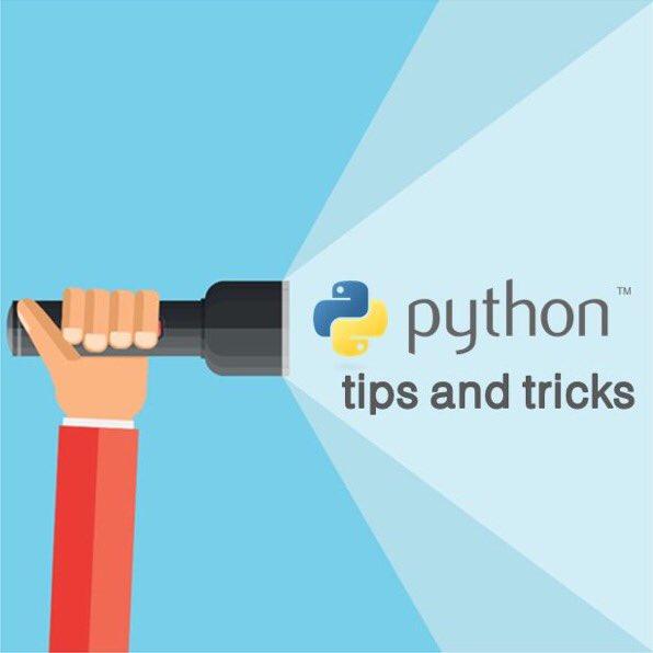 #Python Tips & Tricks For #DataScience:  #abdsc #BigData