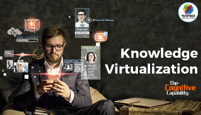 Knowledge curated by using #AI techniques makes #WiproHolmes smarter than others.