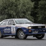 Jari Matti Latvala On Twitter First Day Of Lahtirally Started Well With 5 Stage Wins And A Lot Of Fun With The Audi Quattro Jarmo Maki