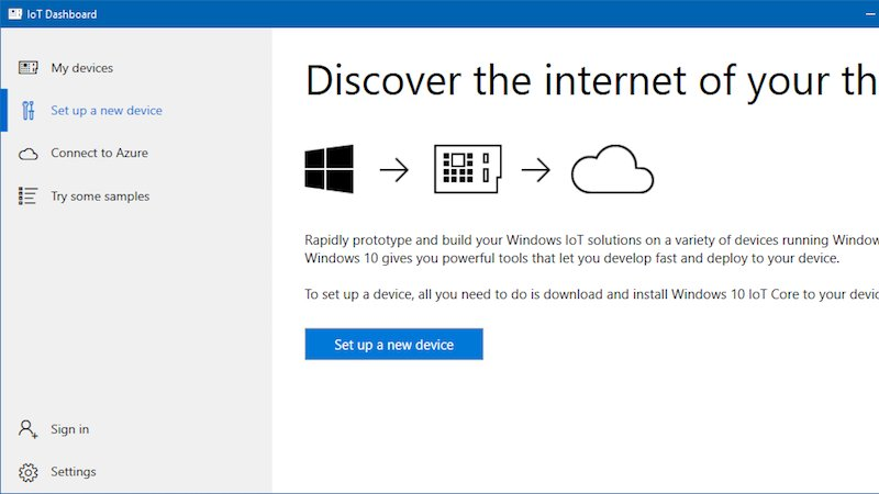 Windows 10 IoT on the Raspberry Pi is now easier to get started with: