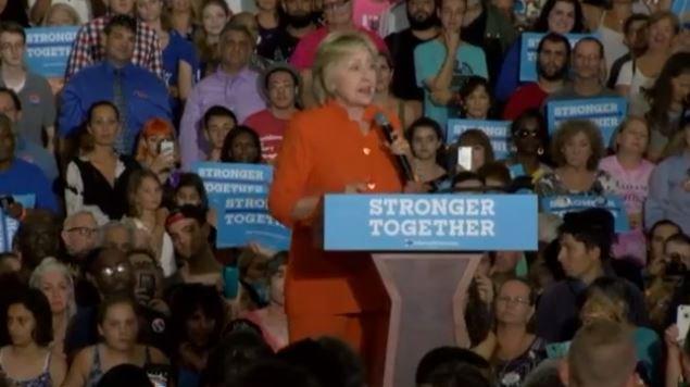 LIVE Clinton in St. Petersburg