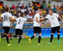 Video: U23 Đức vs U23 Fiji