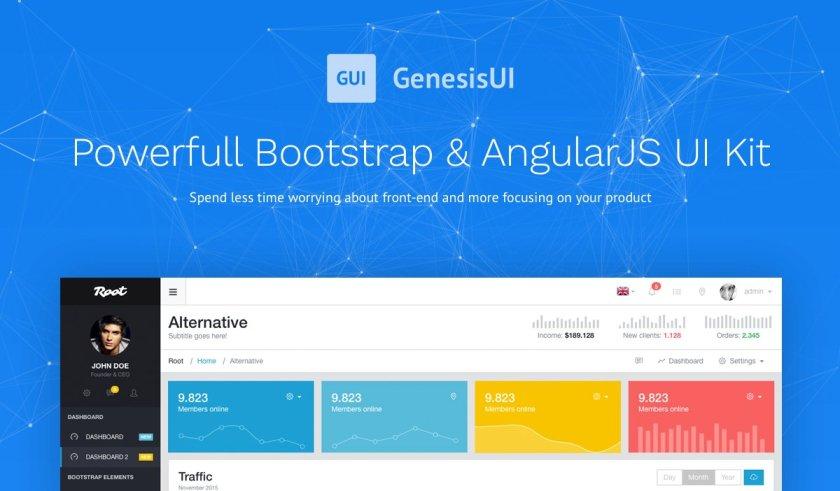 Best of WDStack: GenesisUI  @BootstrapMaster #webdev