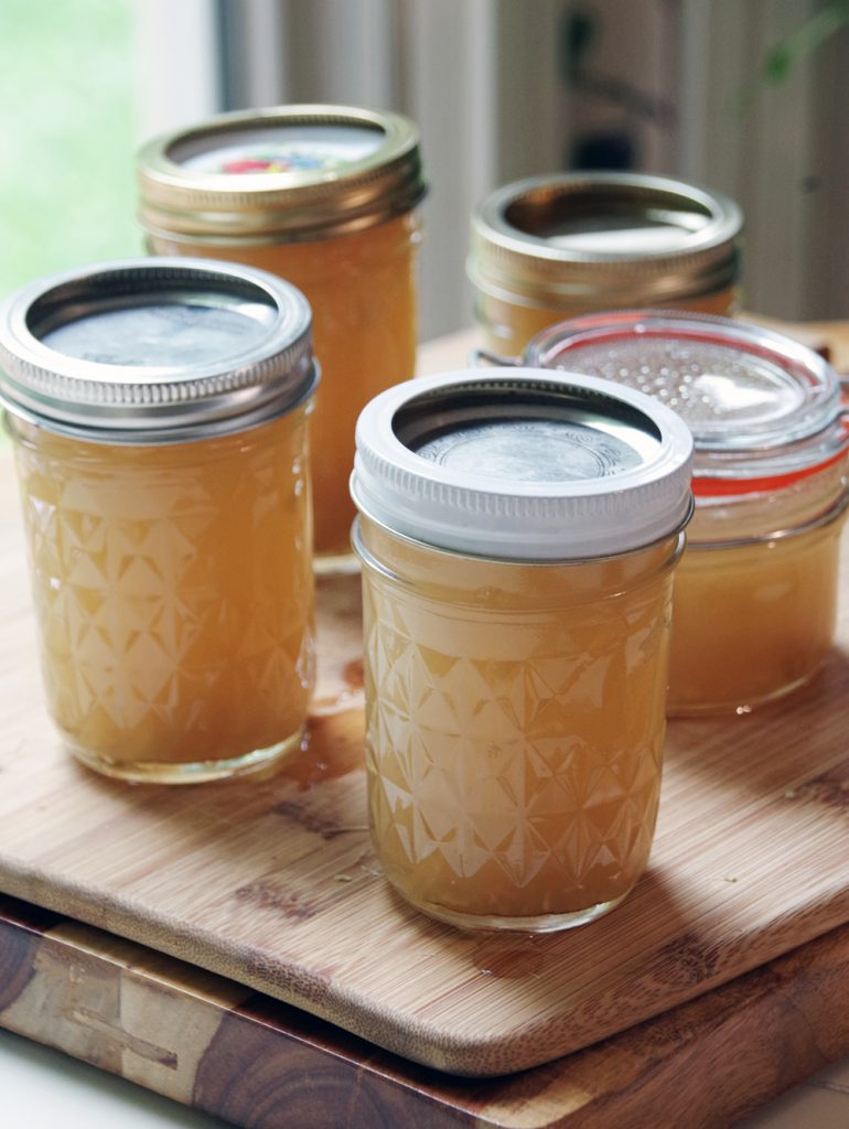 Lemongrass and Ginger Jelly Recipe (no canning required!)