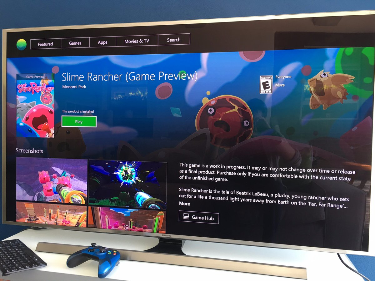 Monomi Park On Twitter Slime Rancher Is Coming To Xbox