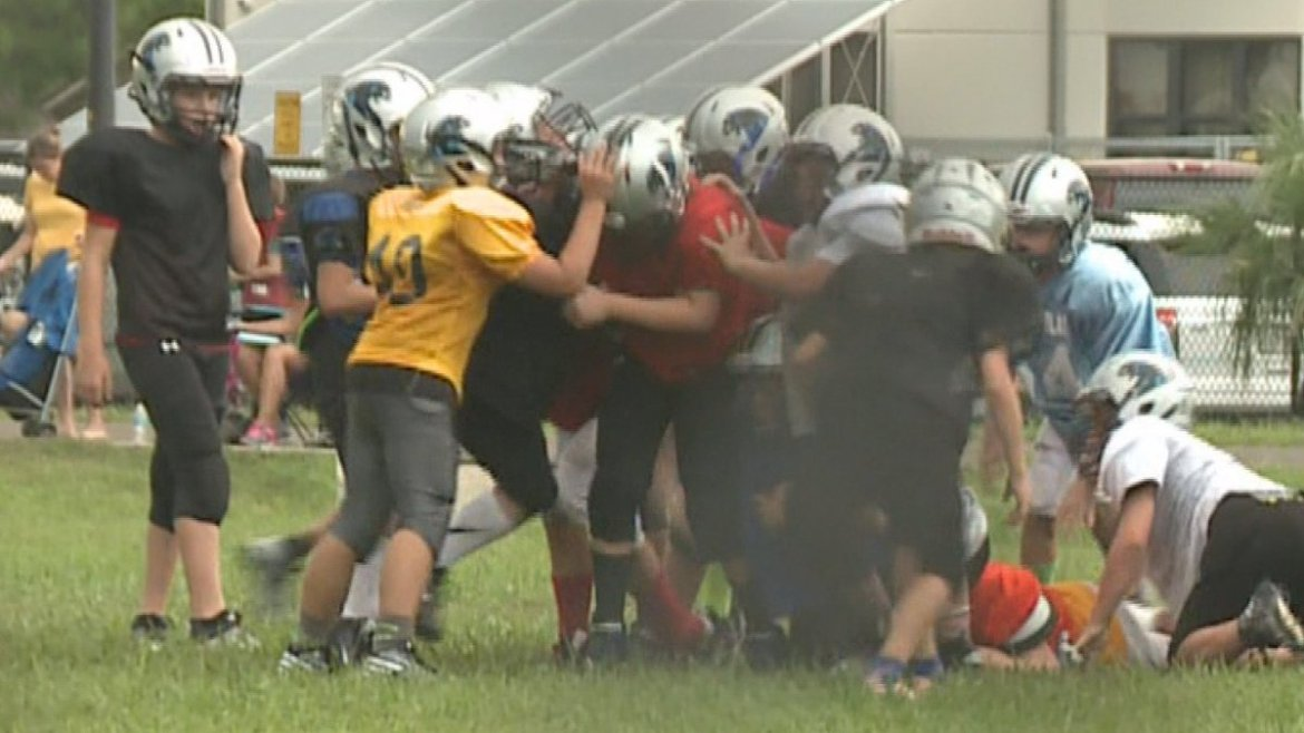 Coaches with Pop Warner : Concessions fund equipment, fees