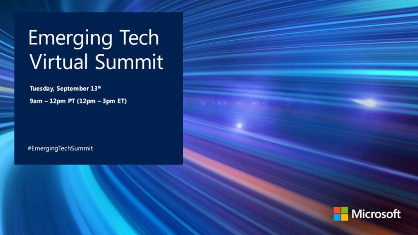 Dive into new tech like #AI & #machinelearning @ our #EmergingTechSummit  #EmergingTechSummit