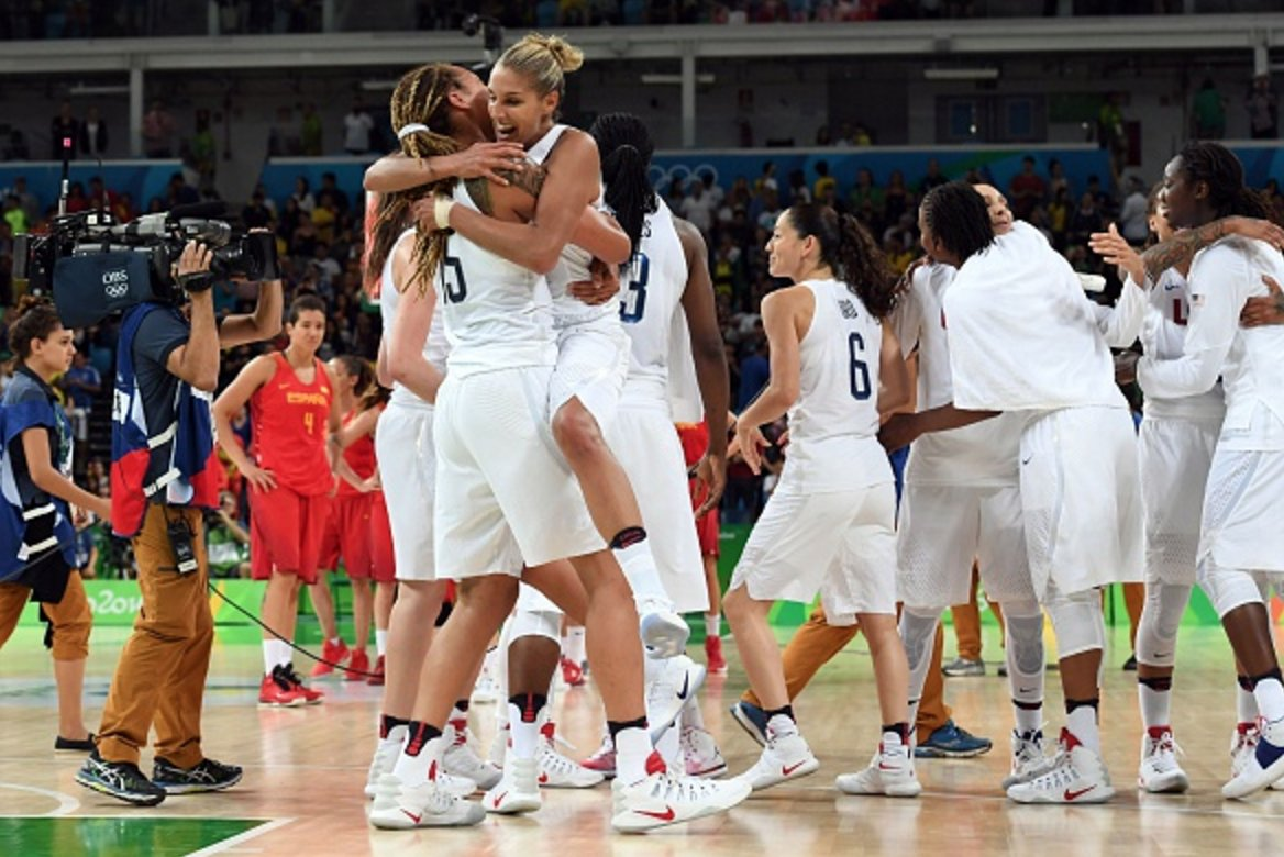 Olympic Sheer Dominance Teamusa Straight Olympic Gold