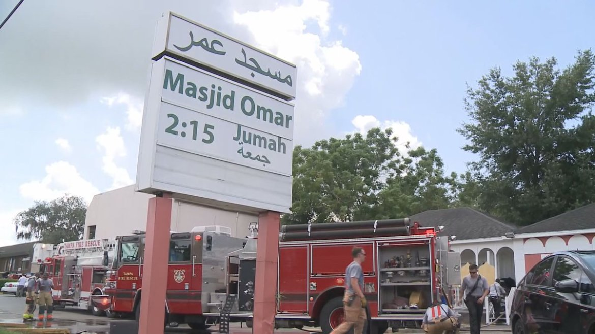 Tampa mosque fire ruled arson  @jpetramala shows you why some say they weren't surprised