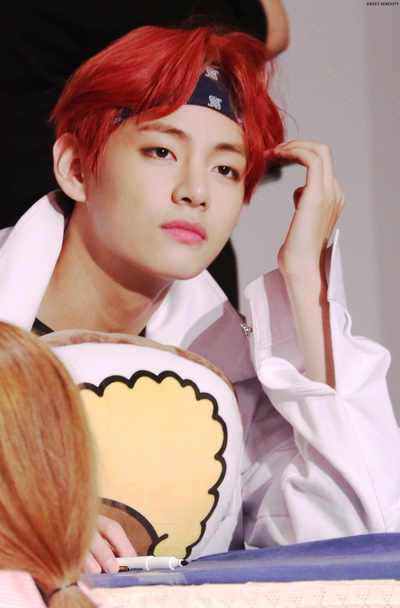 If You Were Showing A Picture Of Taehyung To Someone Whod