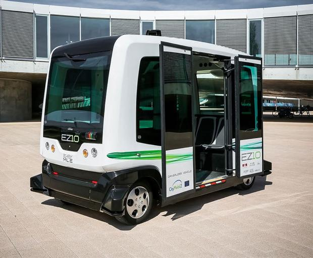 Driverless buses are NOW roaming streets of Helsinki.  Test until mid-September.  #2MA #AI