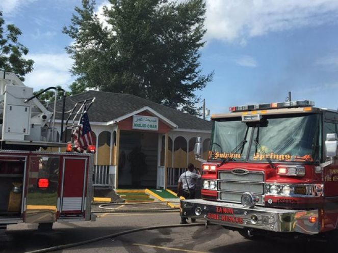 Two Tampa area mosque fires ruled arson