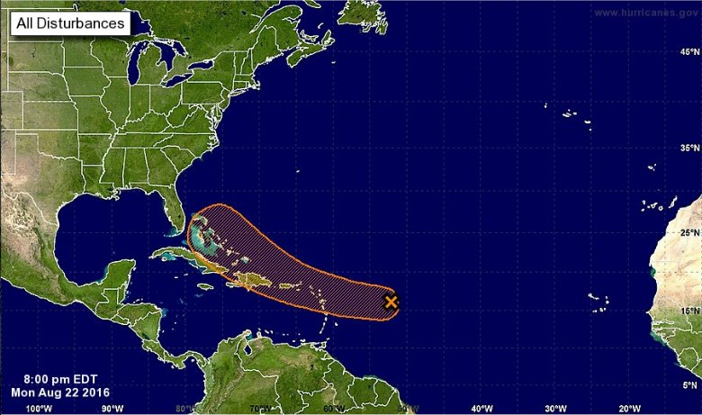 Invest 99L could become tropical cyclone in next 5 days