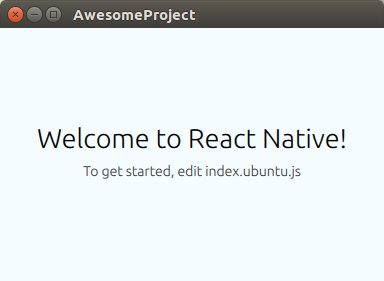Even @Ubuntu has gone all #Native on us! -  #Reactjs #ReactNative #JavaScript