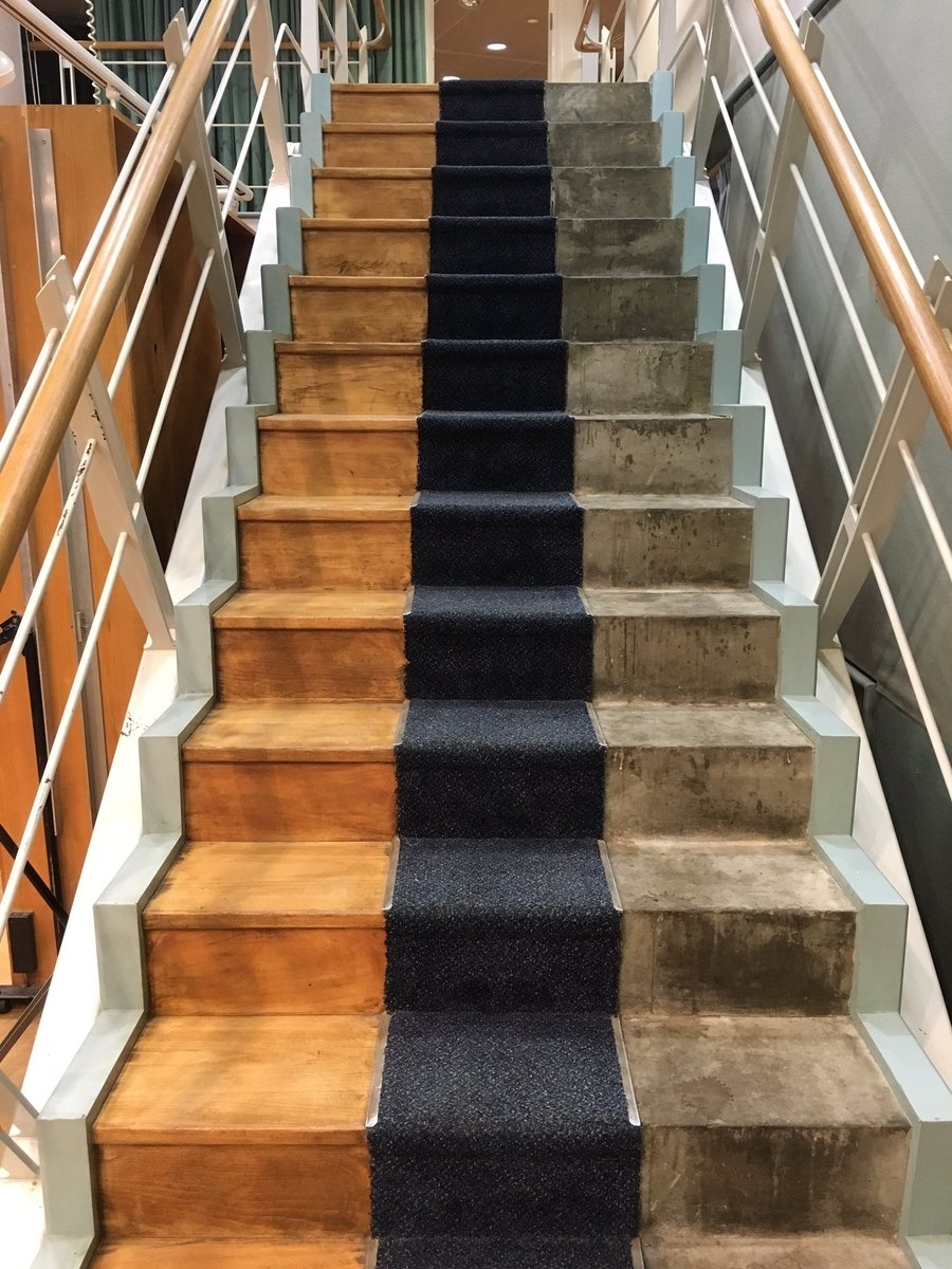 Samuel West On Twitter Radio Drama Staircase Bbc Maida Vale | Running Carpet For Stairs | Carpet Runners | Laminate Flooring | Runner | Hallway | Grey