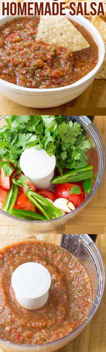 Homemade Salsa Recipe Full recipe:
