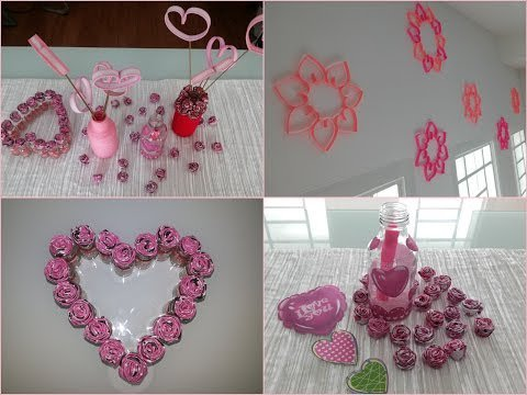 DIY Room And Home Decoration / Valentine\'s Day Decoration