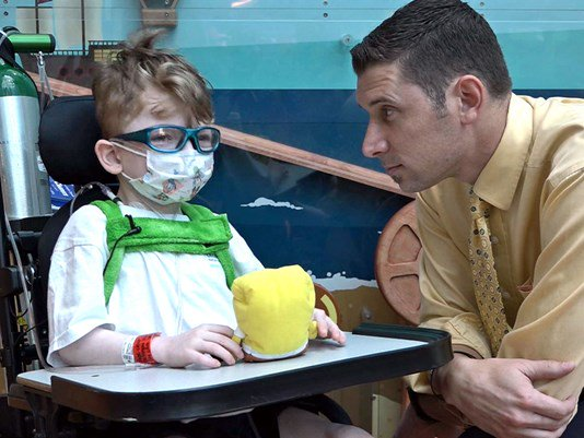 Ill boy continues to check items off bucket list  @Bobby_L has his story: