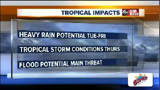 Tropical Impacts from Tropical Depression Nine. #TampaWeather #TampaWX Read More: