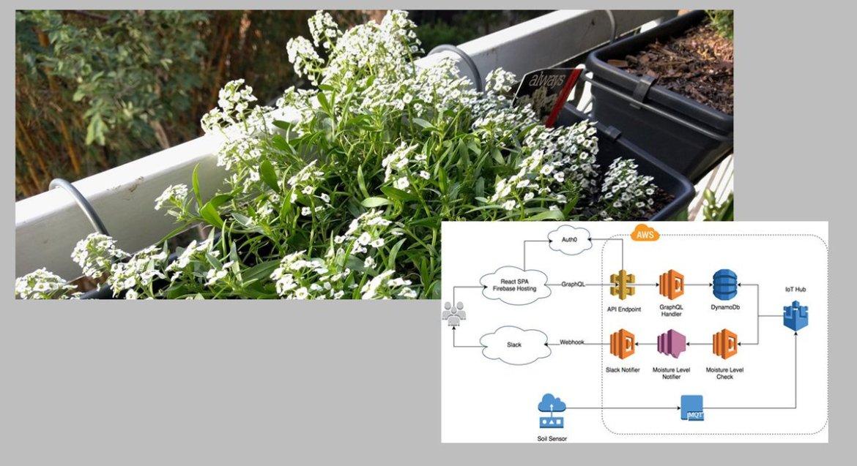 Nice - Serverless #IoT Garden Monitoring Using #AWS -